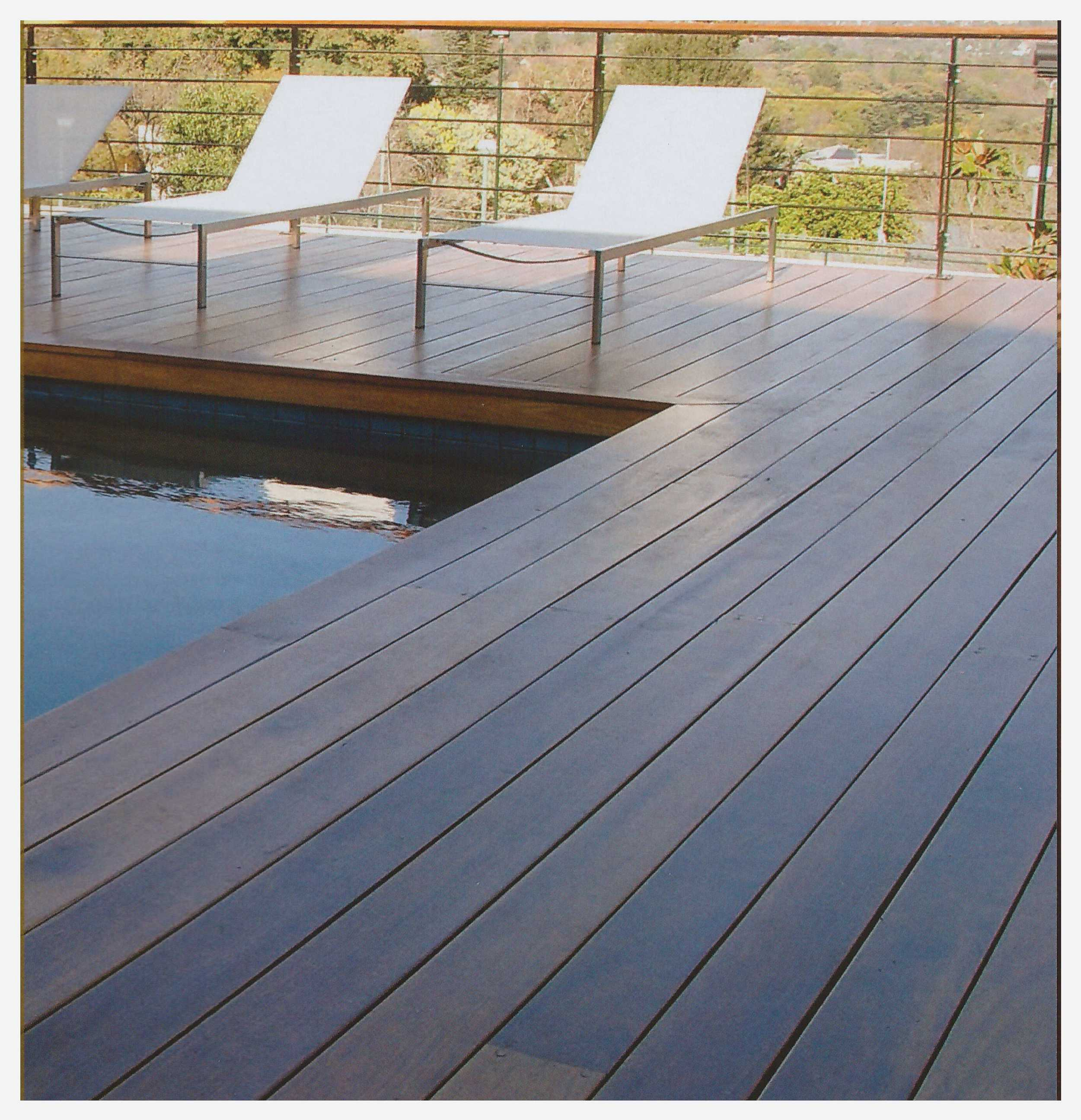 Suelo exterior madera de teka vettagrupo - Suelo para exterior ...