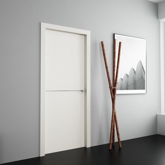 Puertas correderas gran formato o de suelo a techo vetta for Puertas madera blancas