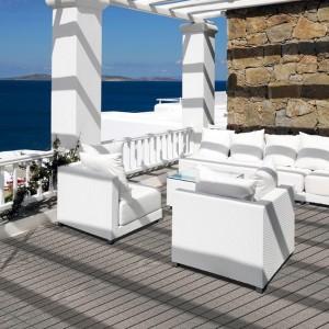 Floover pavimentos vinílicos para exterior Woven Decking