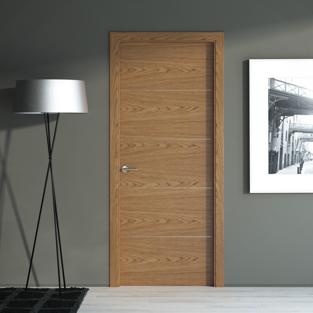 Puertas a medida puertas madera coru a vetta grupo for Puertas madera y cristal interior