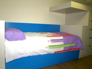 Mueble a medida habitación juvenil