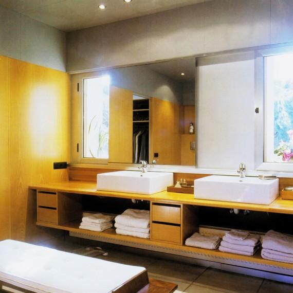 Mueble de ba o lacado blanco vetta grupo - Ver muebles de bano ...