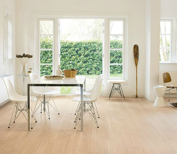 Suelo laminado roble blanco Quick Step