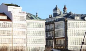 Galerías en la Avenida de La Marina de A Coruña