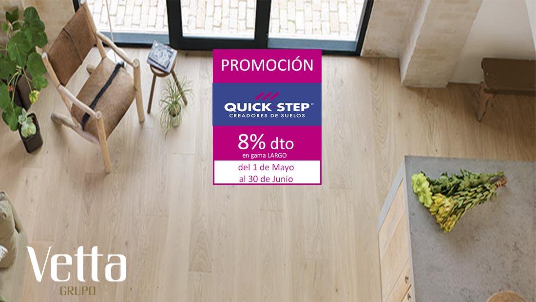 Promoción Quick Step Laminado Largo